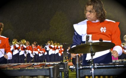 Marching Band hosts alumni to