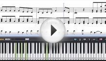 Free Dust - Eli Young Band Piano Sheet Music Tutorial