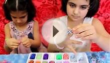 FROZEN Loom Band Bracelet How to make
