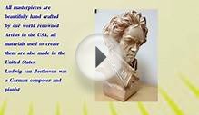 Ludwig Van Beethoven Bust Famous Music Composer Artist